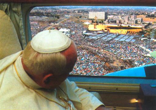Giovanni Paolo II alla GMG del 2000
